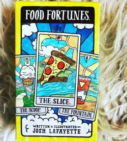 Food Fortunes Tarot Deck!