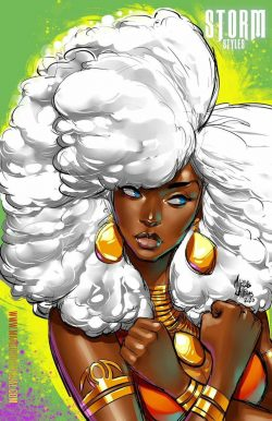 Melanated Queen ?…stay strong!