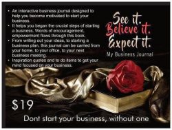 See It. Believe it. Expect it. Business Planner