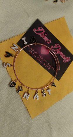 Custom made Charm Bracelets.