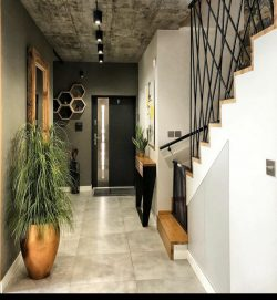 Boho chic entry way