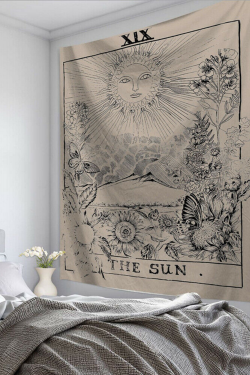 Tarot Card Tapestry