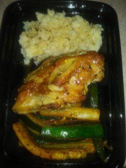 Meal prep – Lemon Chicken