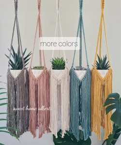 Plant hangers with Long Fringe by Sweet Home Alberti