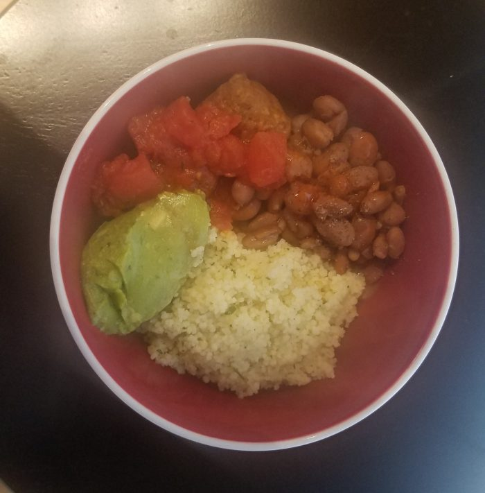 Meatless meal