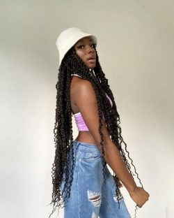 protective hair style