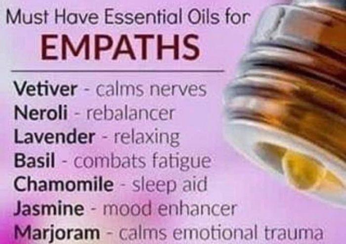 Oils for Empaths