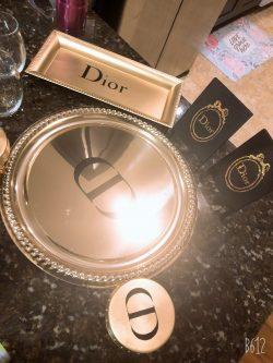 Dior Party Tableware