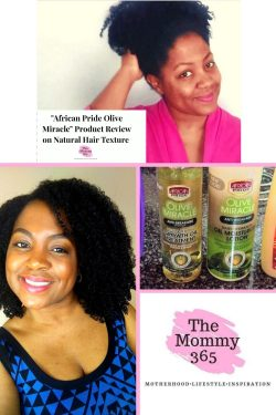 African Pride Olive Oil Miracle Product Review on Natural Hair Texture