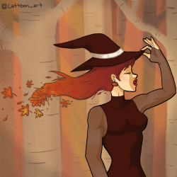 Fall Witch