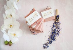"""Elux Wash Natural Artisan Soap """"Happiness"""""""