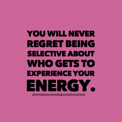 Be an energy snob. You deserve the best.