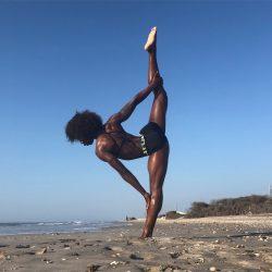 Black Girls Doing Yoga