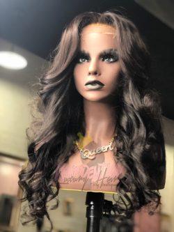 Beautiful Curly Glueless Wig Unit – @konfidentkaysalon