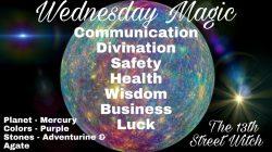 Wednesday magic