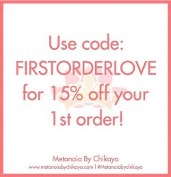 15% OFF your 1st order!