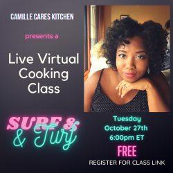 TONIGHT! Live Virtual Cooking Class