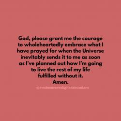 Daily motivational prayer.