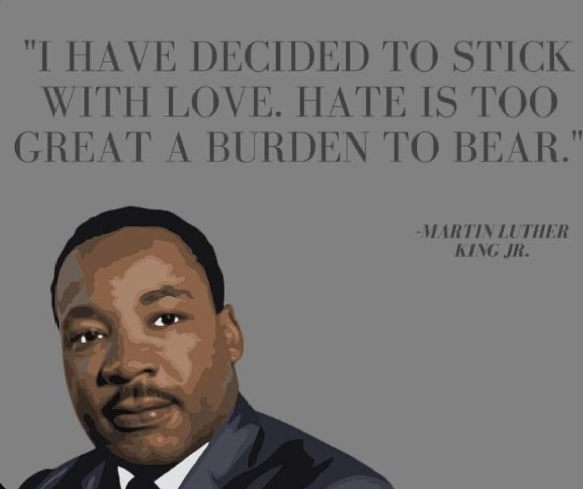 "Download Quote: ""I have decided to stick with love. Hate is too ..."