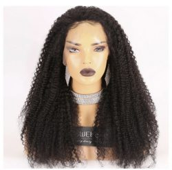 Brazilian Virgin Hair Kinky Curl 360 Lace Wig