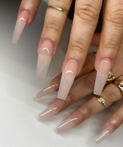 Clean nails