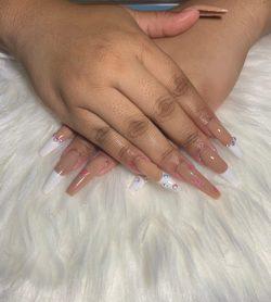 Designer nail inspo