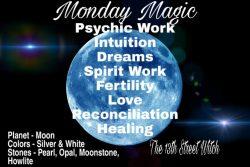 Monday magic
