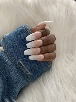 PRE$$ED•ish | Soft Glam | Ombré press on nails