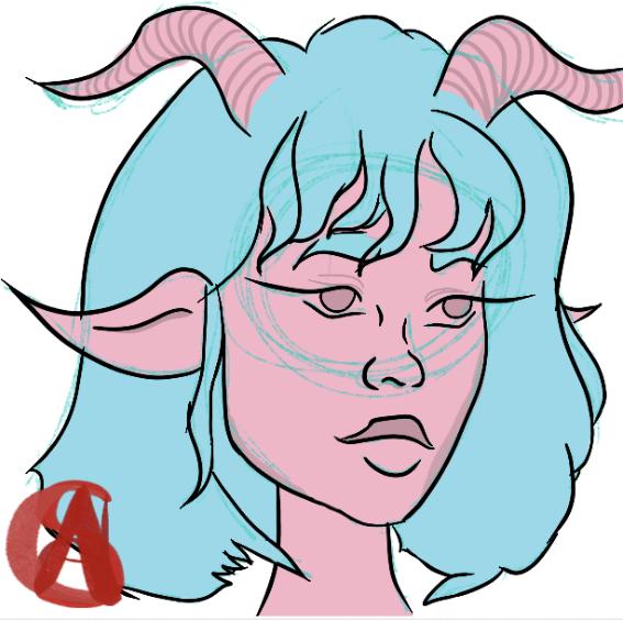 Random alien girl