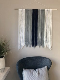 """Navajo"" Yarn Wall Hanging"