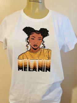 Melanin women's tee
