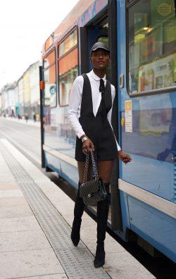 City chic fall fashion