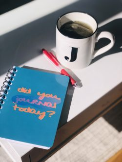 self care is self love. journalling is a form of self care.