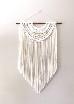 """""""Cheyenne"""" Yarn Wall Hanging"""