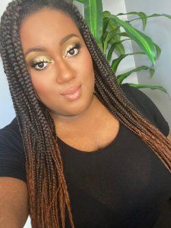 Soft gold makeup| Alanamelissa