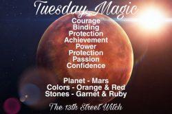 Tuesday magic