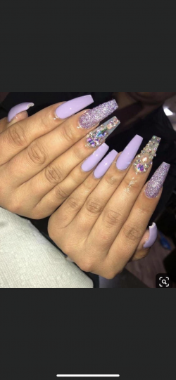 Lavender Nails?