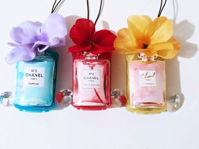 Chanel Car Freshener Freshies Vanilla Cherry or Linen Scent car Scent