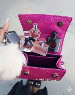 What's in my bag, fragrance edition…