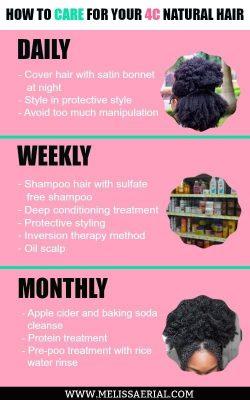 4C Hair Management Tips