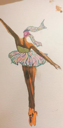Watercolors beginners