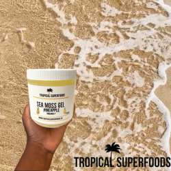 Pineapple Infused Seamoss Gel, This is a Superfood combination! Sea Moss is popular for its many ...