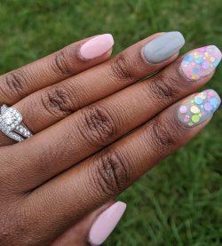 Sweet and Fun DIY DIP Nails