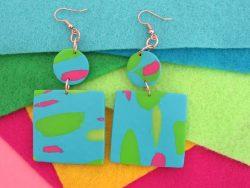 Blue Sand (Part I) Earrings
