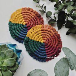 Coaster set by Sweet Home Alberti