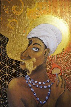 Obeah Woman, Ancestor, Healer by Jay Percy The Artist @jaypercytheartist