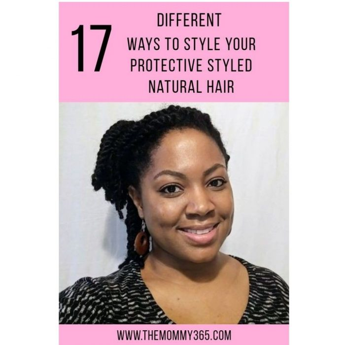 17 Different Ways To Style Your Protective Styled Natural Hair