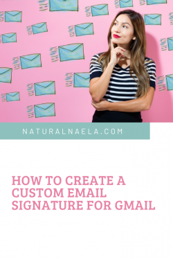 How to Create a Custom Email Signature for Gmail