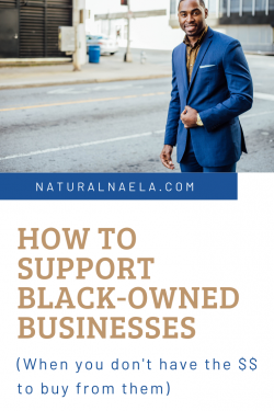 How to Support B.O.B (When You Don't Have the $$$ to Buy From Them)