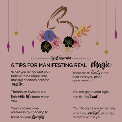 How to manifest real MAgic